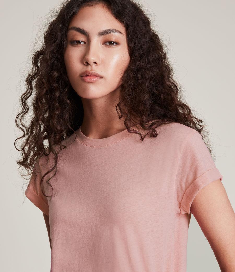 Mujer Anna T-Shirt (pink) - Image 4