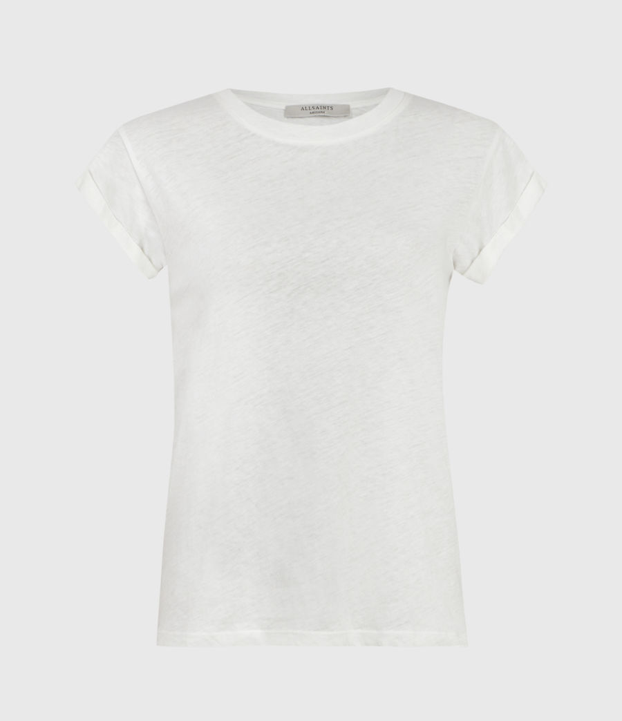 Womens Anna T-Shirt (chalk_white) - Image 2