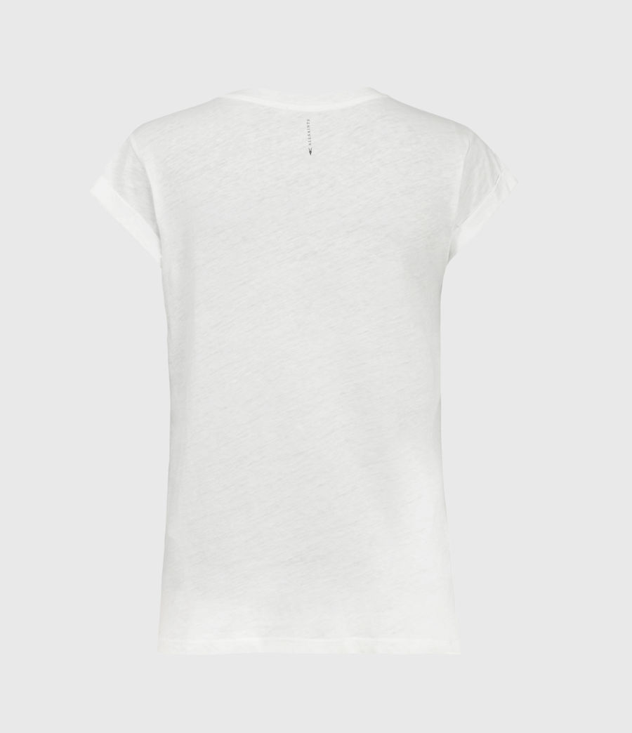 Womens Anna T-Shirt (chalk_white) - Image 3