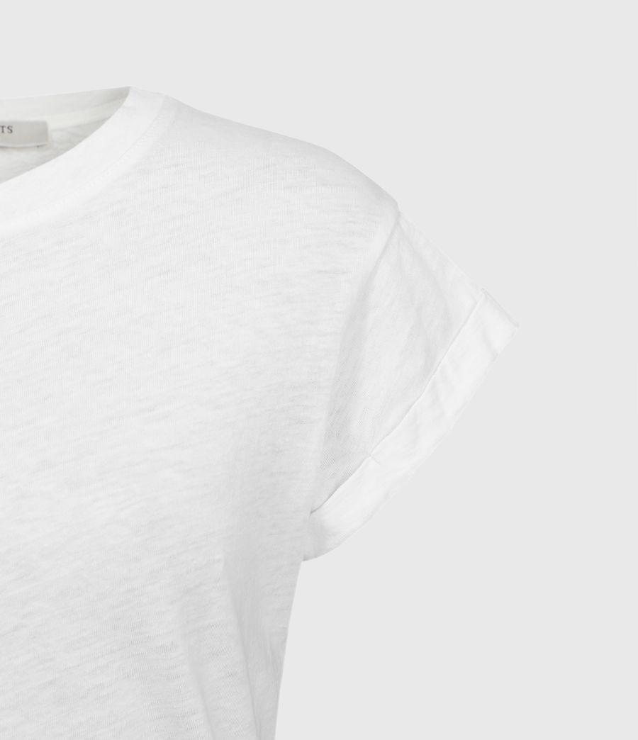 Womens Anna T-Shirt (chalk_white) - Image 6