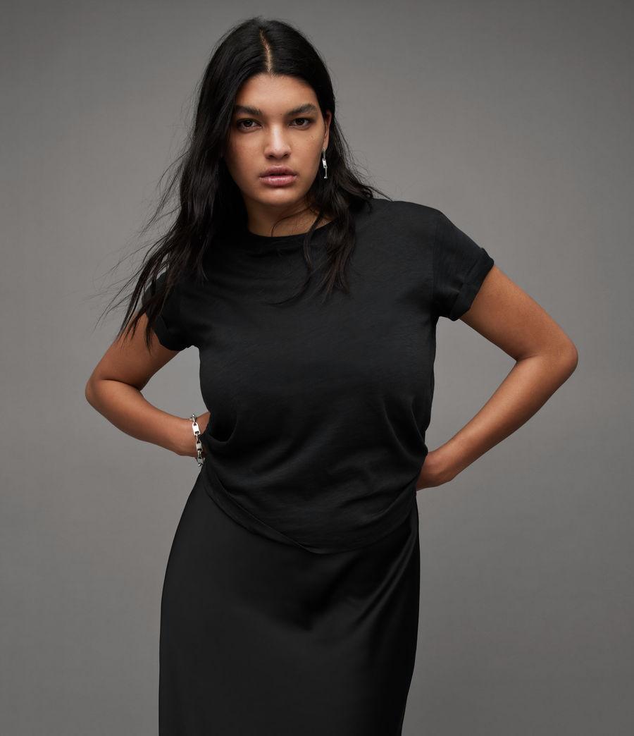 Women's Anna T-Shirt (black) - Image 1