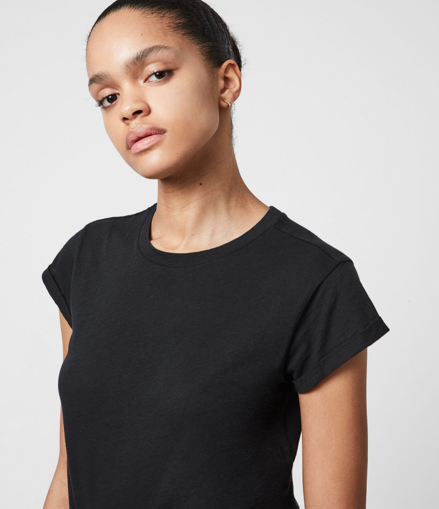 Women's Anna T-Shirt (black) - Image 4