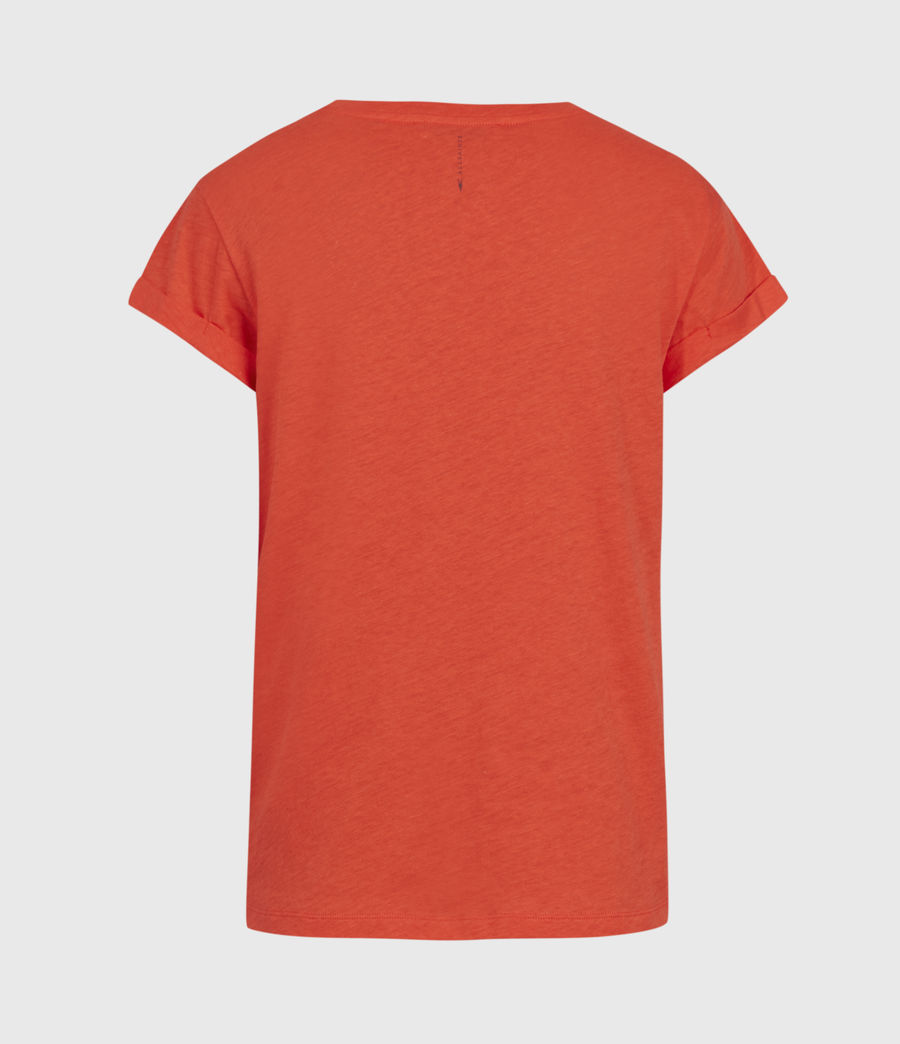 Women's Anna T-Shirt (riot_red) - Image 3