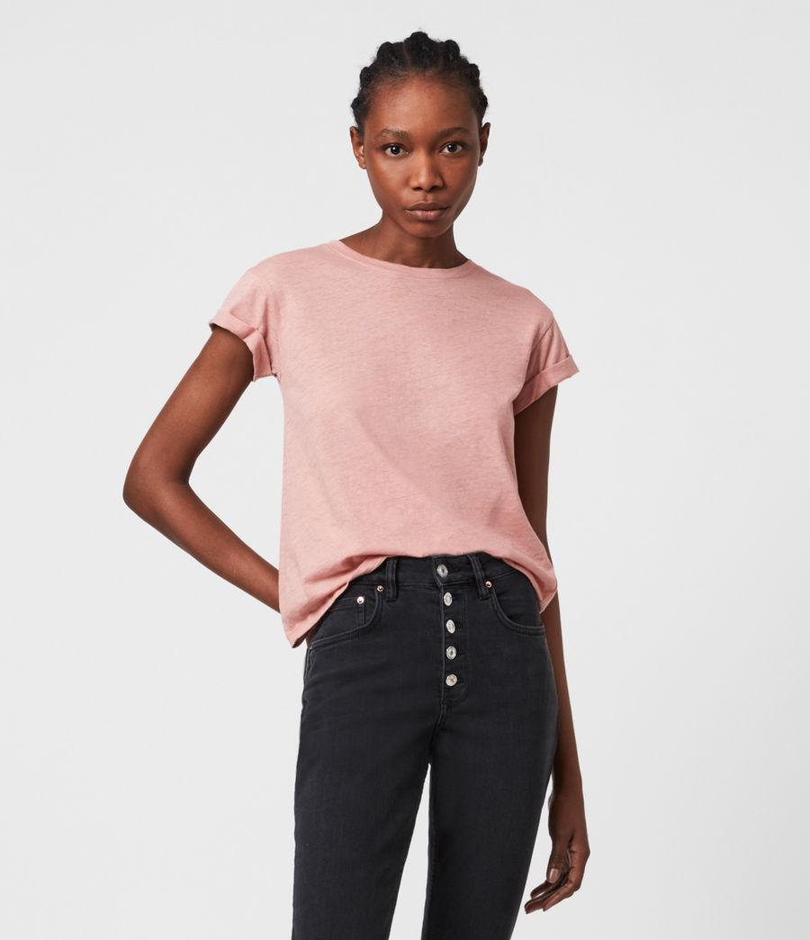 Women's Anna T-Shirt (chick_pink) - Image 1
