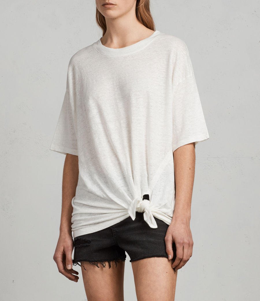 Women's Meli T-Shirt (chalk_white) - Image 3