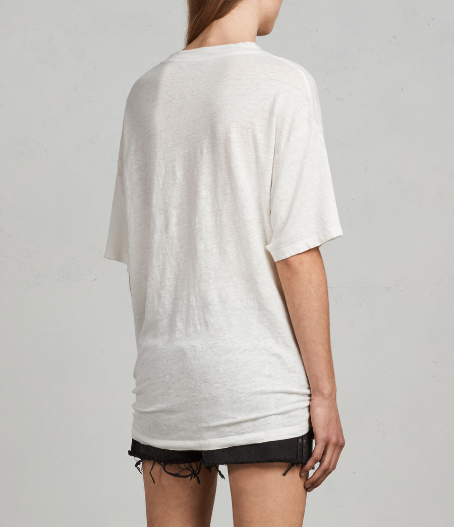 Women's Meli T-Shirt (chalk_white) - Image 4