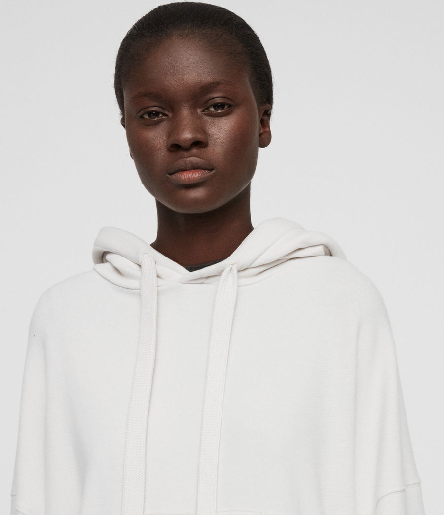 Womens Talow Hoodie (ivory_white) - Image 3