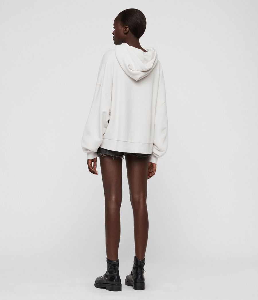 Womens Talow Hoodie (ivory_white) - Image 5