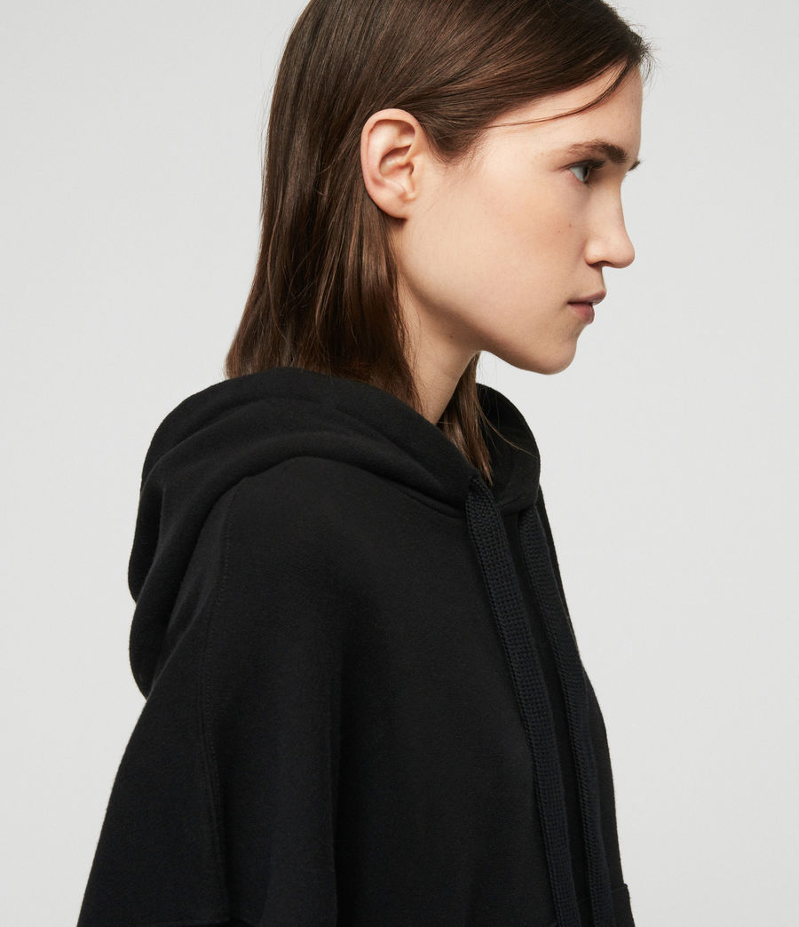 Women's Talow Hoodie (black) - Image 4