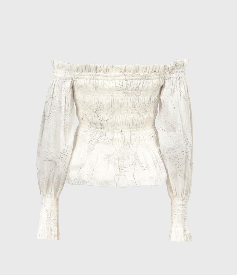 Women's Lara Dover Silk Blend Top (white) - Image 3