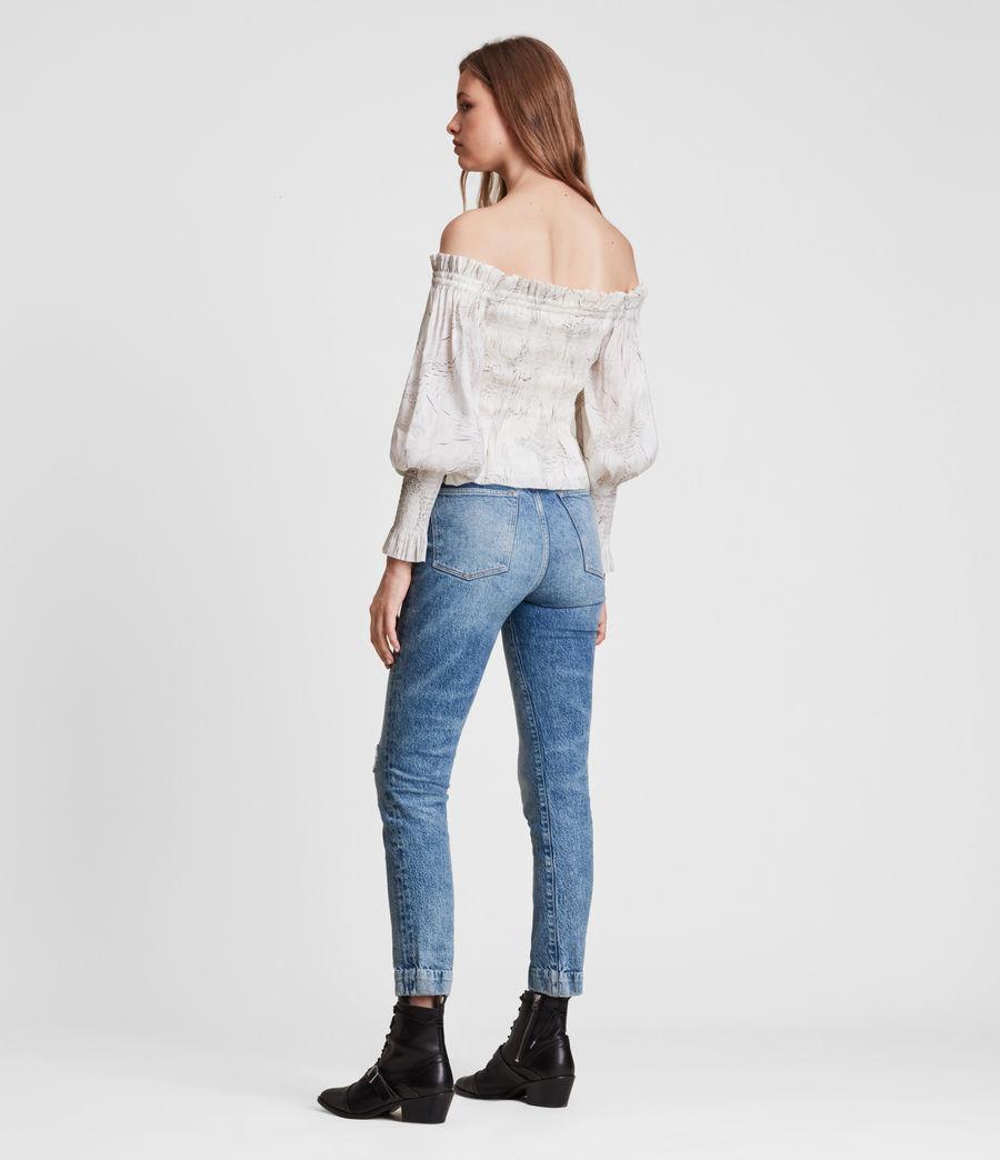 Women's Lara Dover Silk Blend Top (white) - Image 6