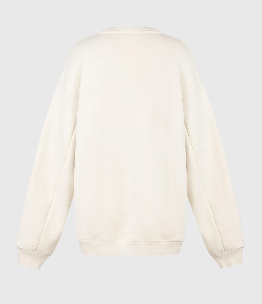 Damen Iris Iris Crew Sweatshirt (ecru_white) - Image 3