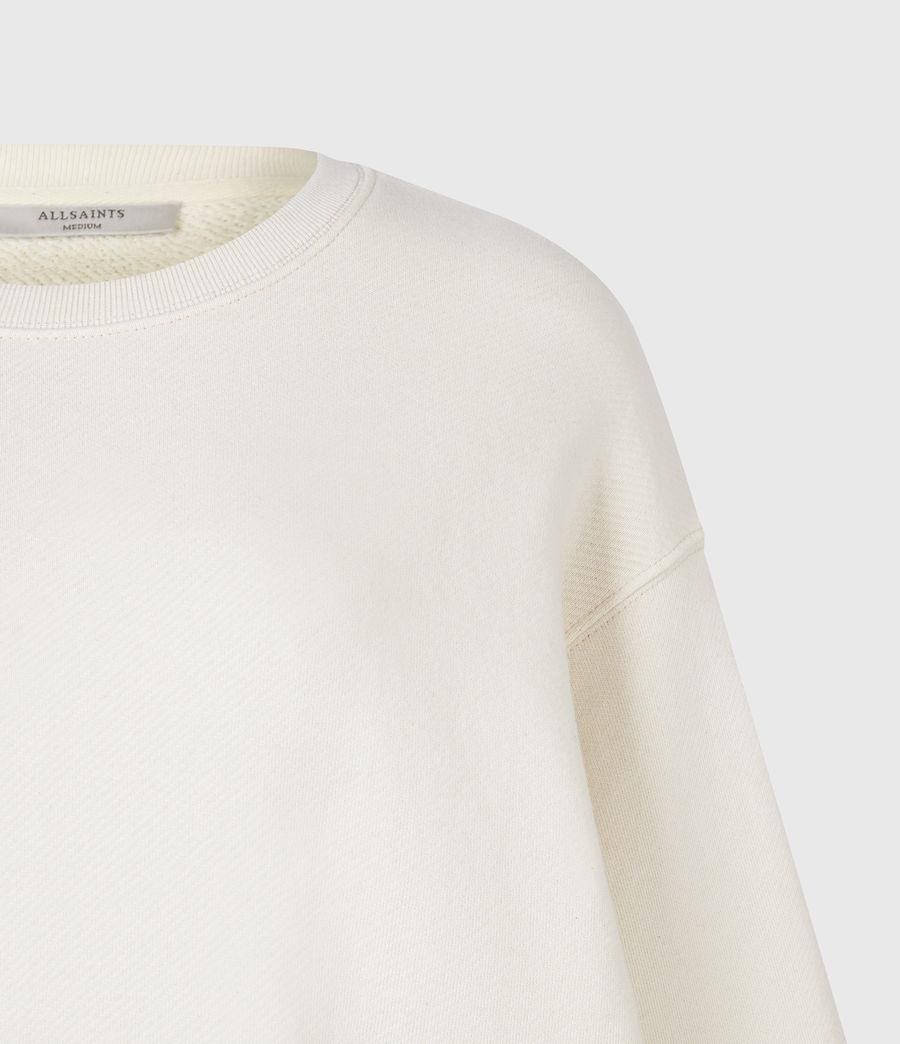 Damen Iris Iris Crew Sweatshirt (ecru_white) - Image 5