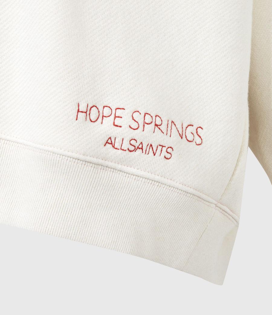 Damen Iris Iris Crew Sweatshirt (ecru_white) - Image 6