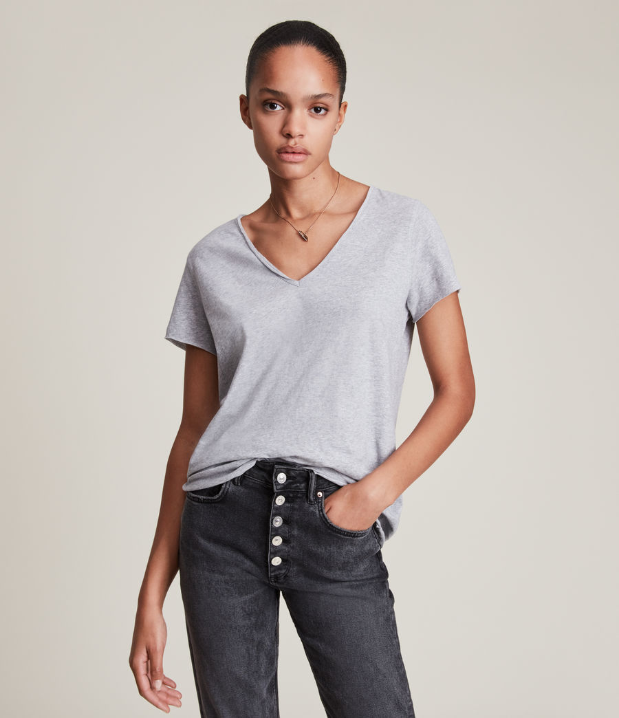 Women's Emelyn Tonic T-Shirt (grey_marl) - Image 1