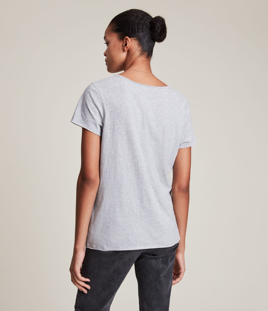 Damen Emelyn Tonic T-Shirt (grey_marl) - Image 4