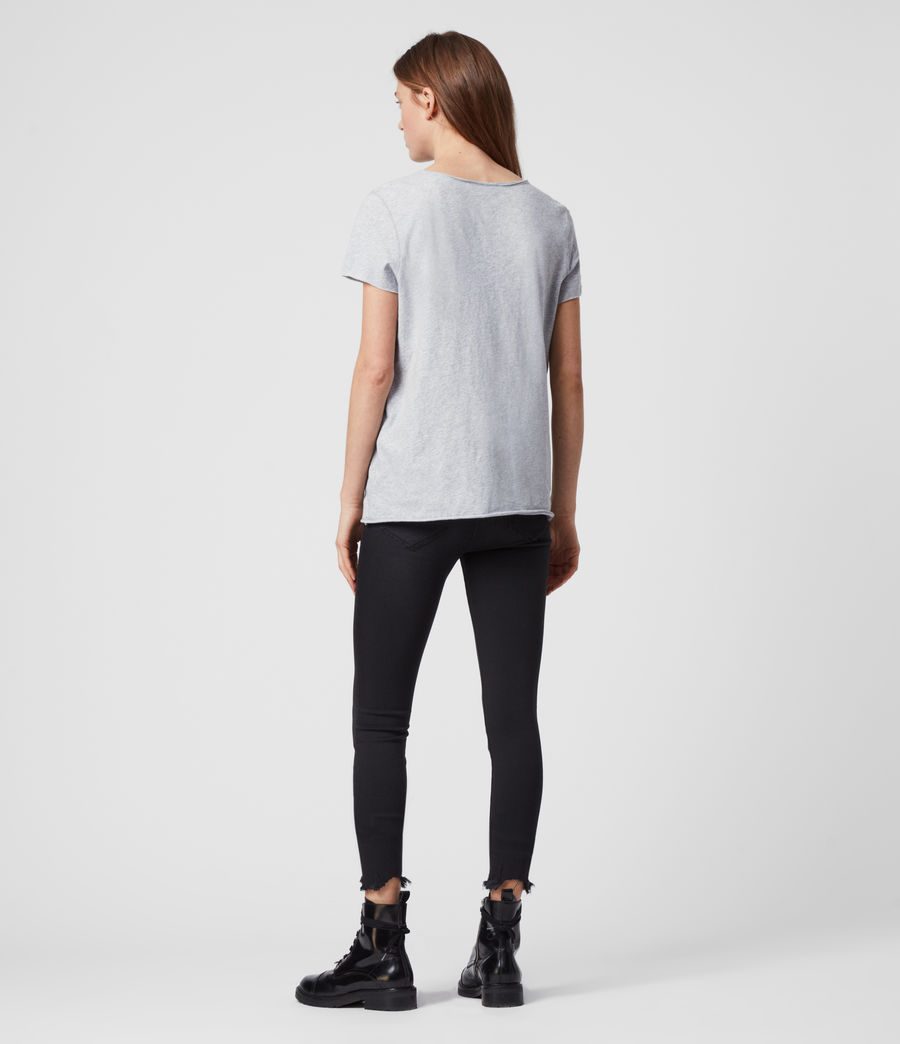 Womens Emelyn Tonic T-Shirt (grey_marl) - Image 5