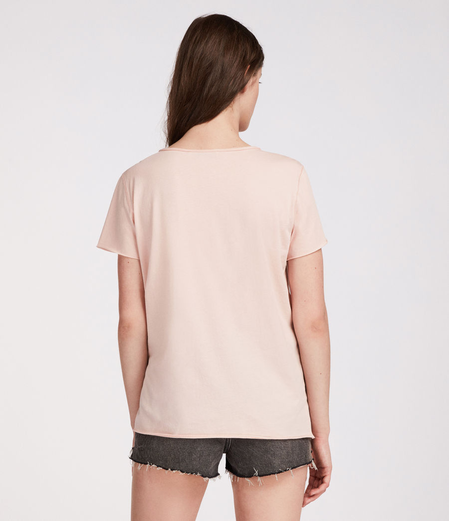 Womens Emelyn Tonic T-Shirt (pale_pink) - Image 3