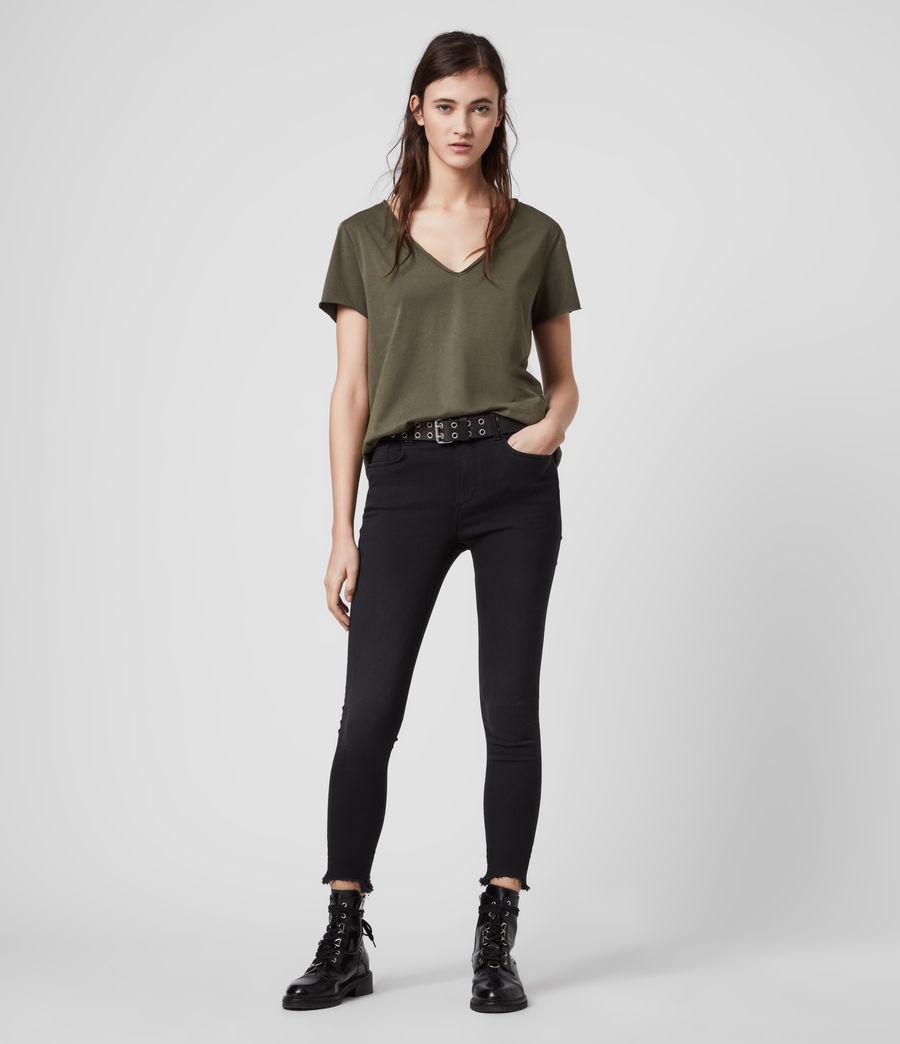 Mujer Emelyn Tonic T-Shirt (khaki_green) - Image 3