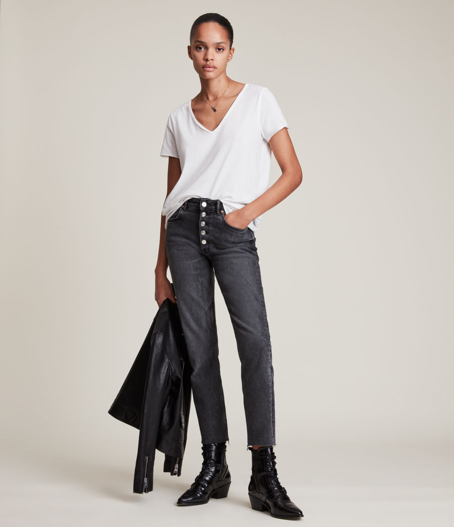 Damen Emelyn Tonic T-Shirt (grey_marl) - Image 3