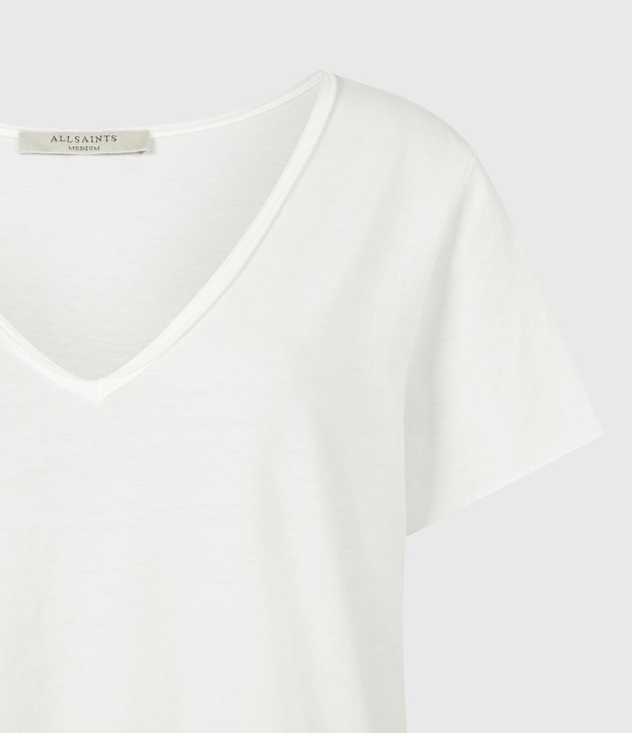Women's Emelyn Tonic T-Shirt (chalk_white) - Image 5