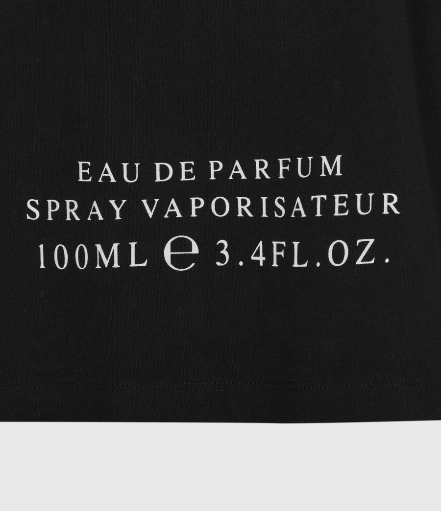 Womens Leather Skies Imogen T-Shirt (black) - Image 6