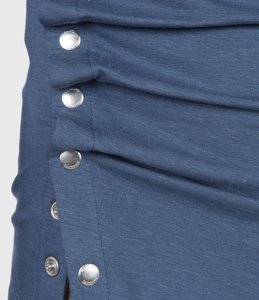 Women's Hatti Long Sleeve T-Shirt (dock_blue) - Image 6