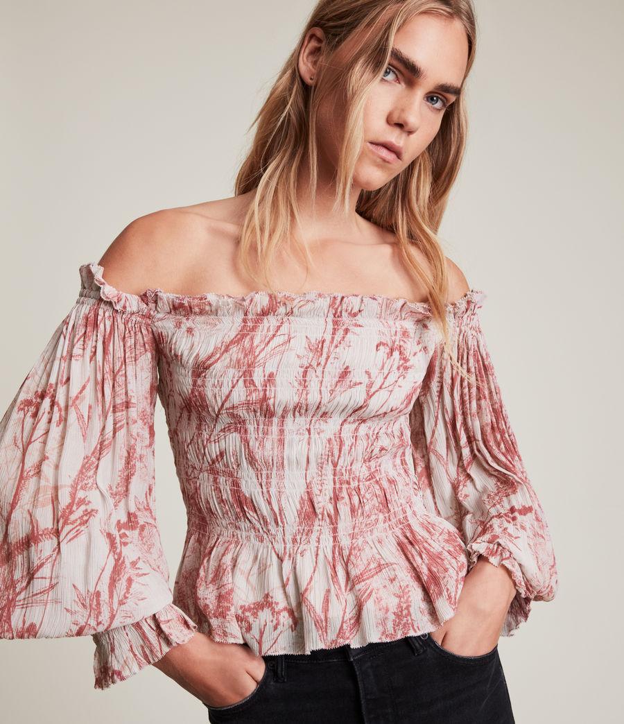 Women's Lara Grasmere Top (soft_cherry_pink) - Image 2