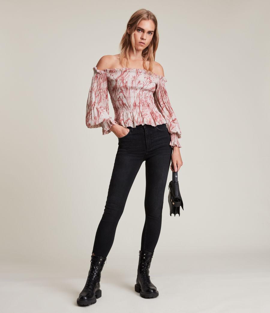 Women's Lara Grasmere Top (soft_cherry_pink) - Image 4