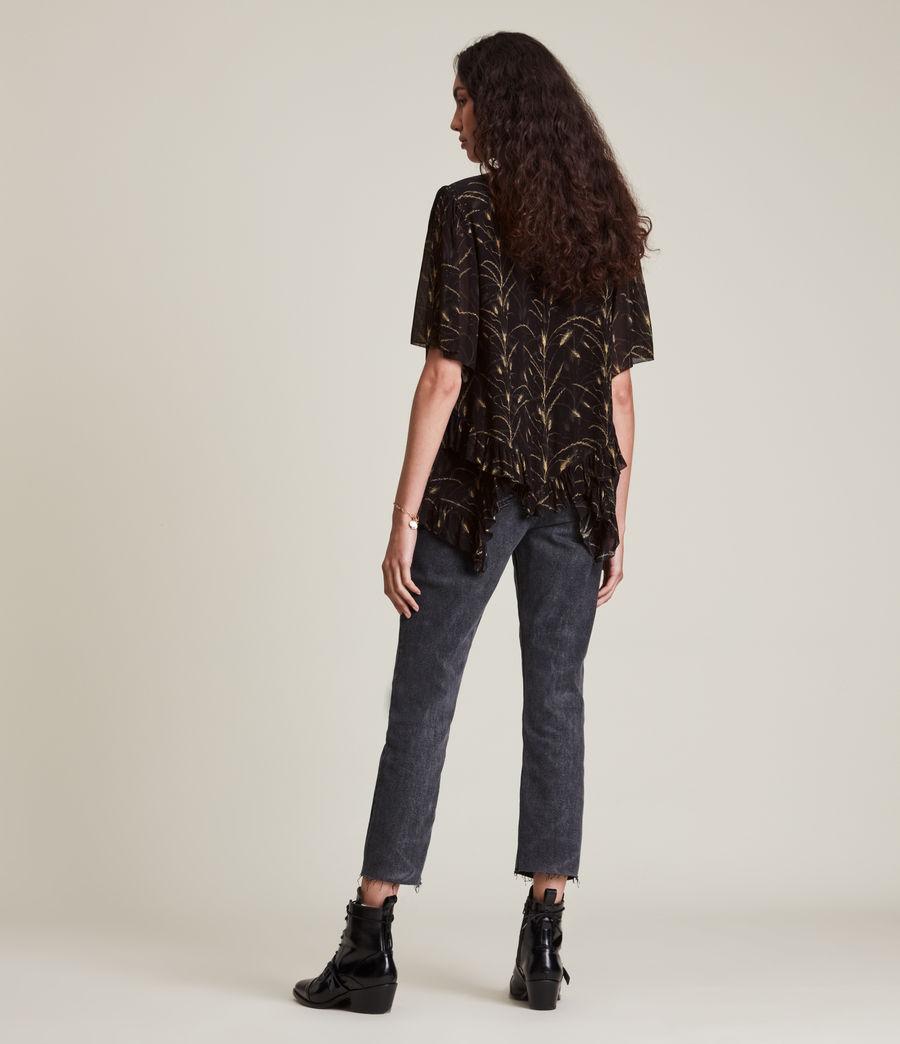 Womens Nico Lowestoft Top (black) - Image 4