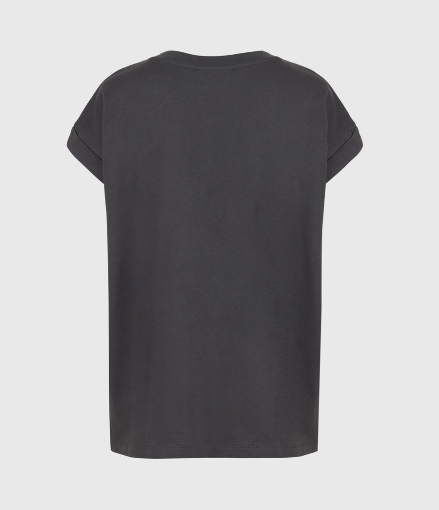 Women's Pride Leppo Imogen Boy T-Shirt (washed_black) - Image 3