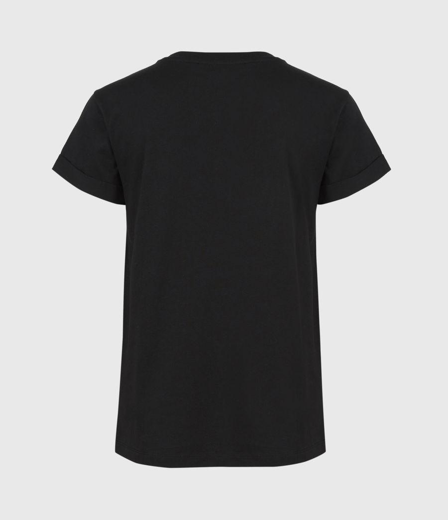 Femmes T-Shirt Pride Outline Anna (black) - Image 3