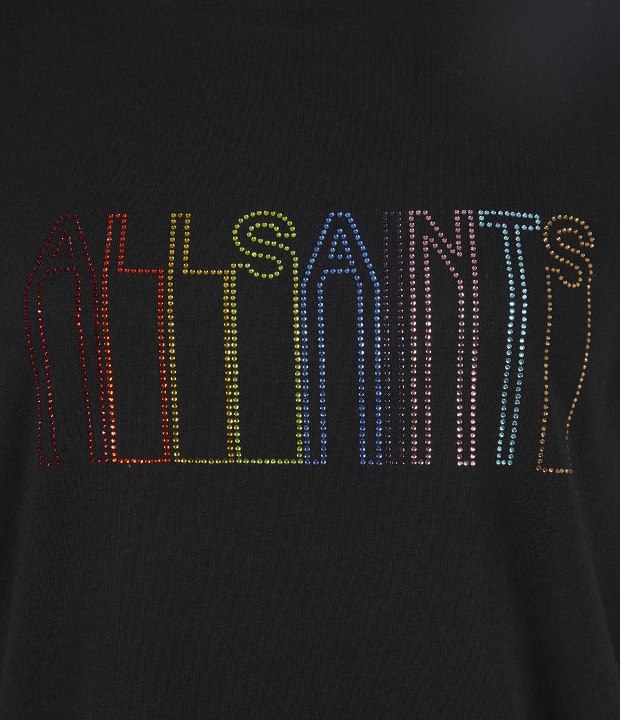 Femmes T-Shirt Pride Outline Anna (black) - Image 6