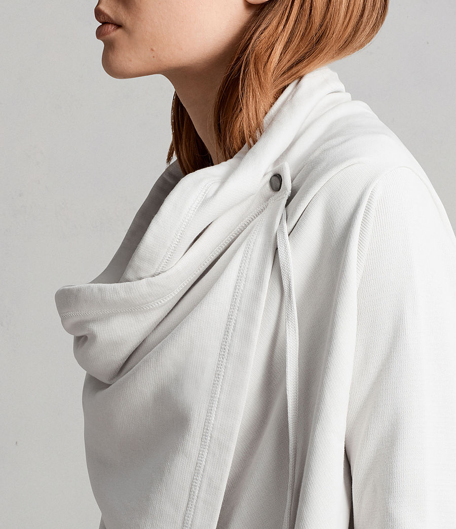 Femmes Cardigan Ivy Drape (ivory_white) - Image 2