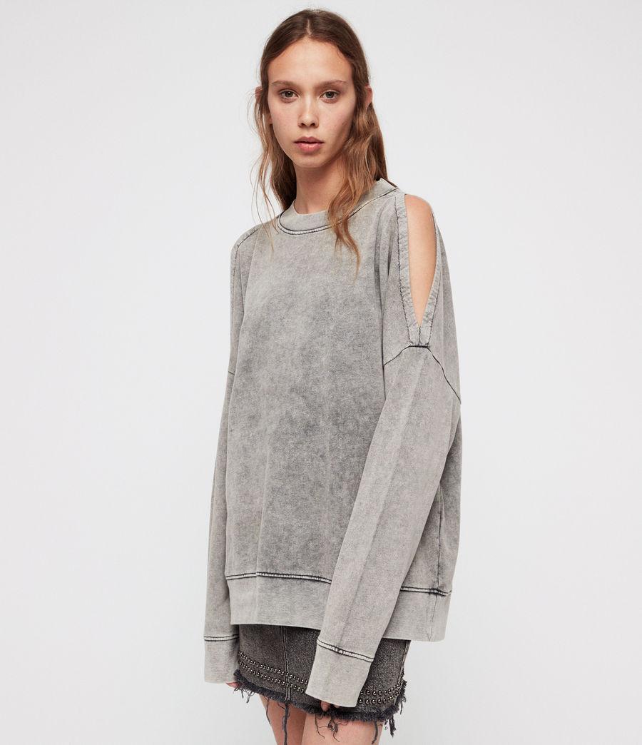 Damen Unai Sweatshirt (light_grey) - Image 1