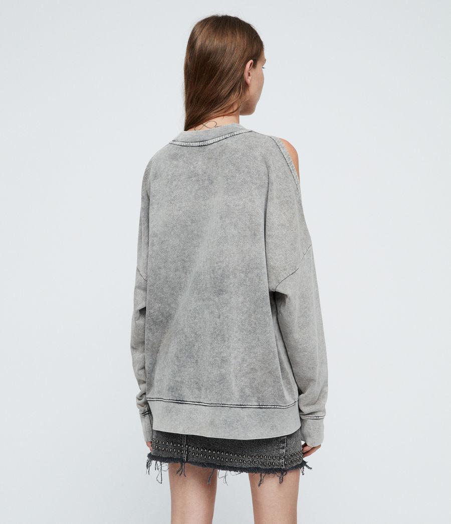 Damen Unai Sweatshirt (light_grey) - Image 4