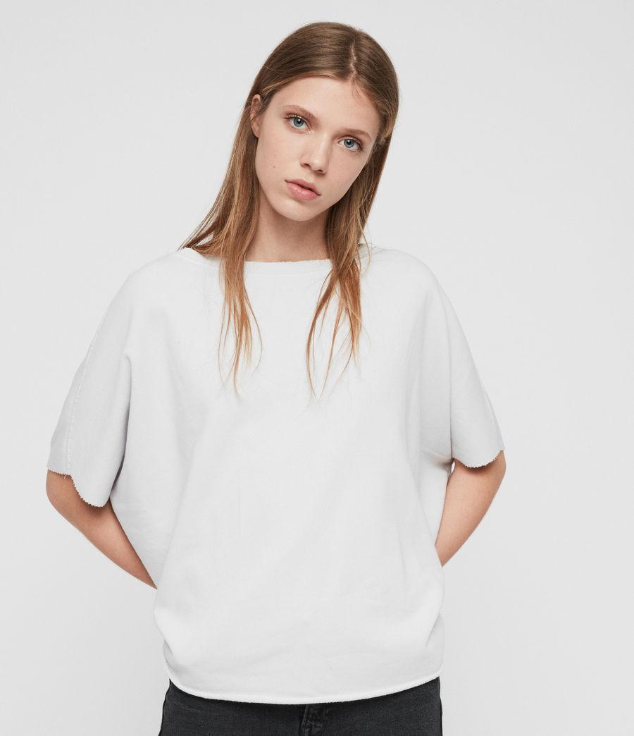 Womens Xonda Sweatshirt (washed_grey) - Image 1