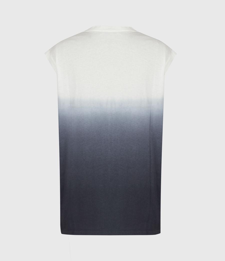 Womens Brandy Tie Dye Tank (ink_blue_white) - Image 3