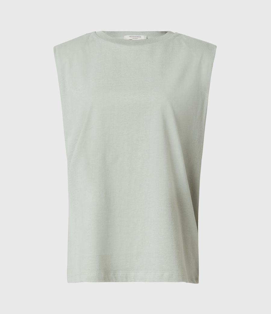 Women's Coni Organic Cotton Tank (slate_grey) - Image 2