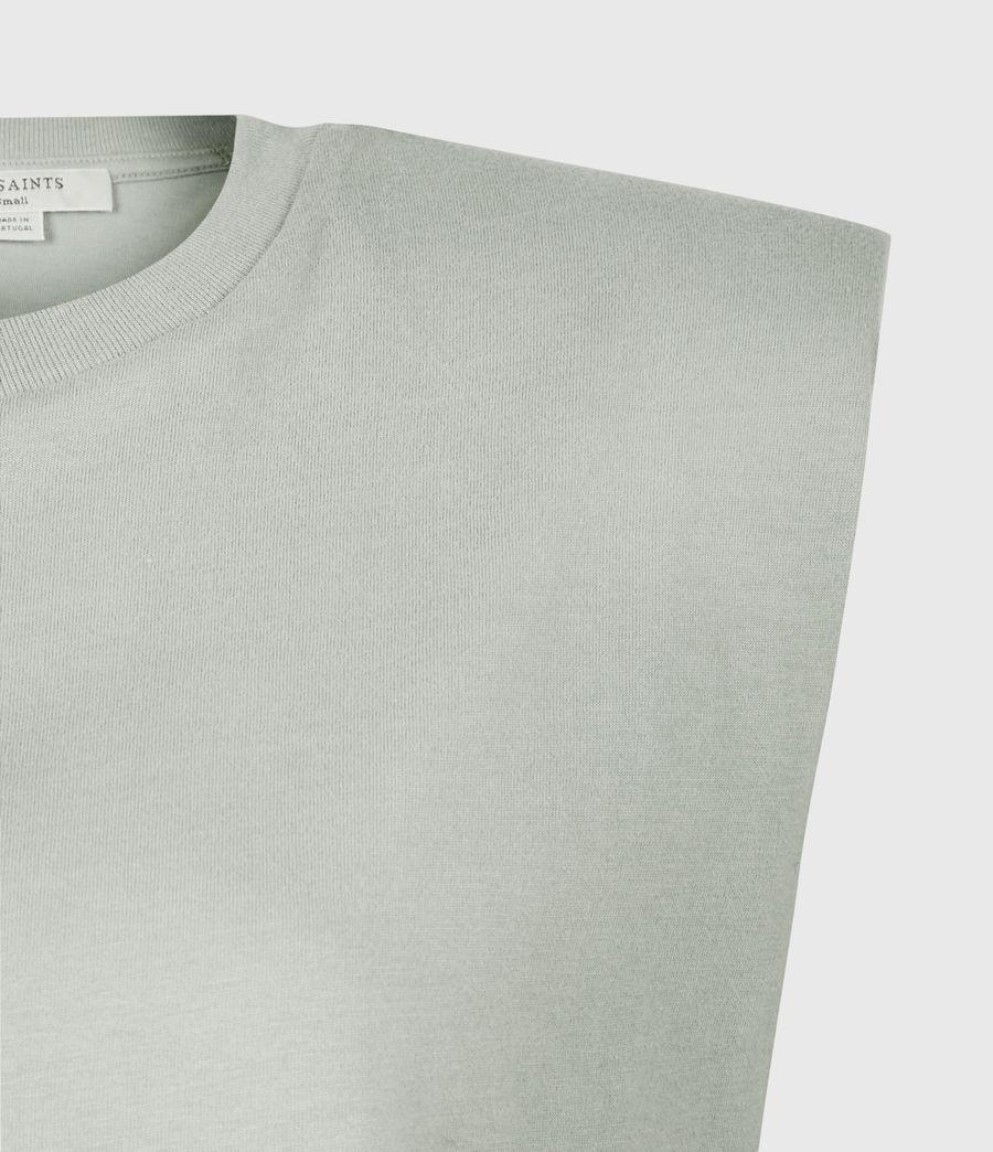 Women's Coni Organic Cotton Tank (slate_grey) - Image 5