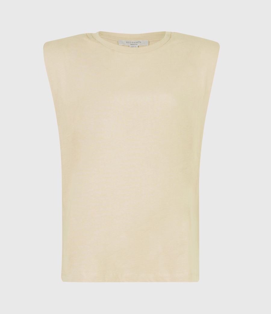 Women's Coni Organic Cotton Tank (ochre_yellow) - Image 2