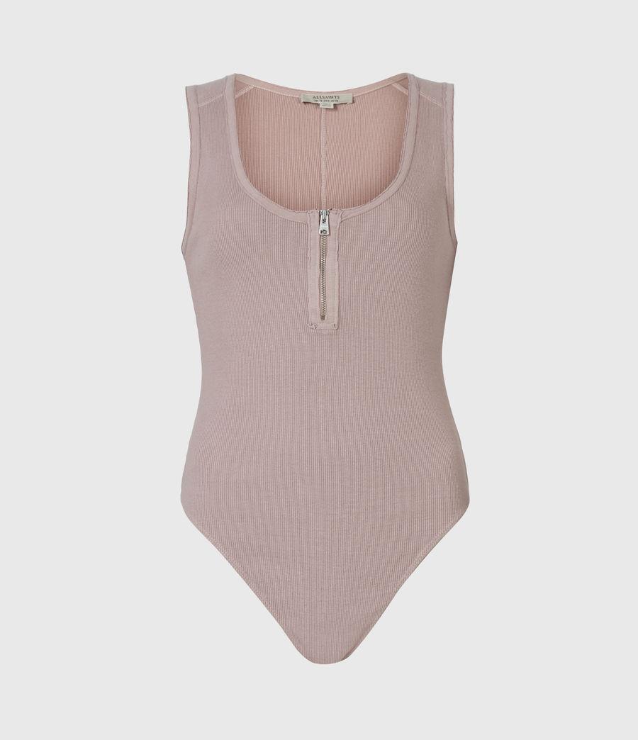 Women's Alicia Bodysuit (morning_mauve) - Image 2