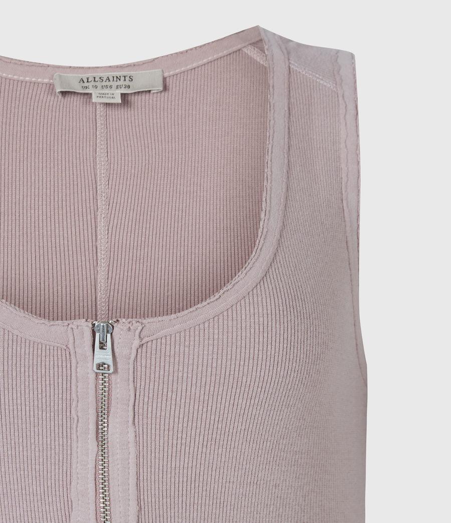 Women's Alicia Bodysuit (morning_mauve) - Image 5