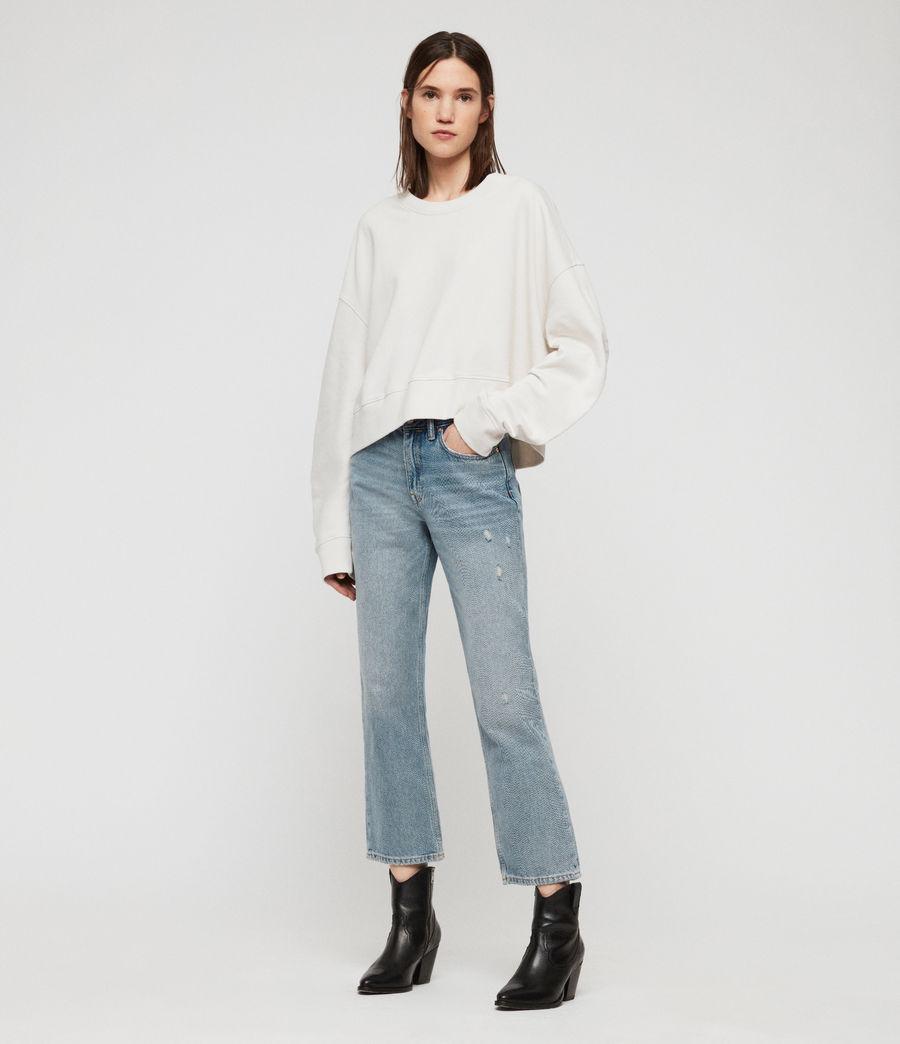 Women's Marna Sweatshirt (ivory_white) - Image 1