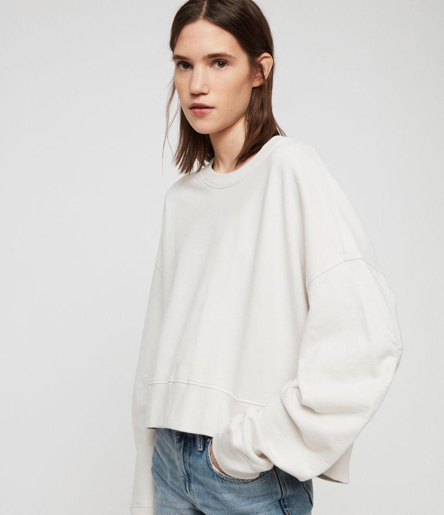 Women's Marna Sweatshirt (ivory_white) - Image 2