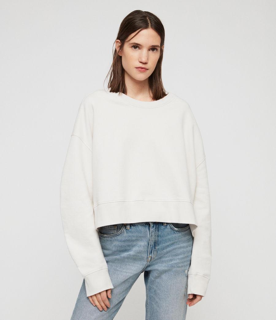 Women's Marna Sweatshirt (ivory_white) - Image 3