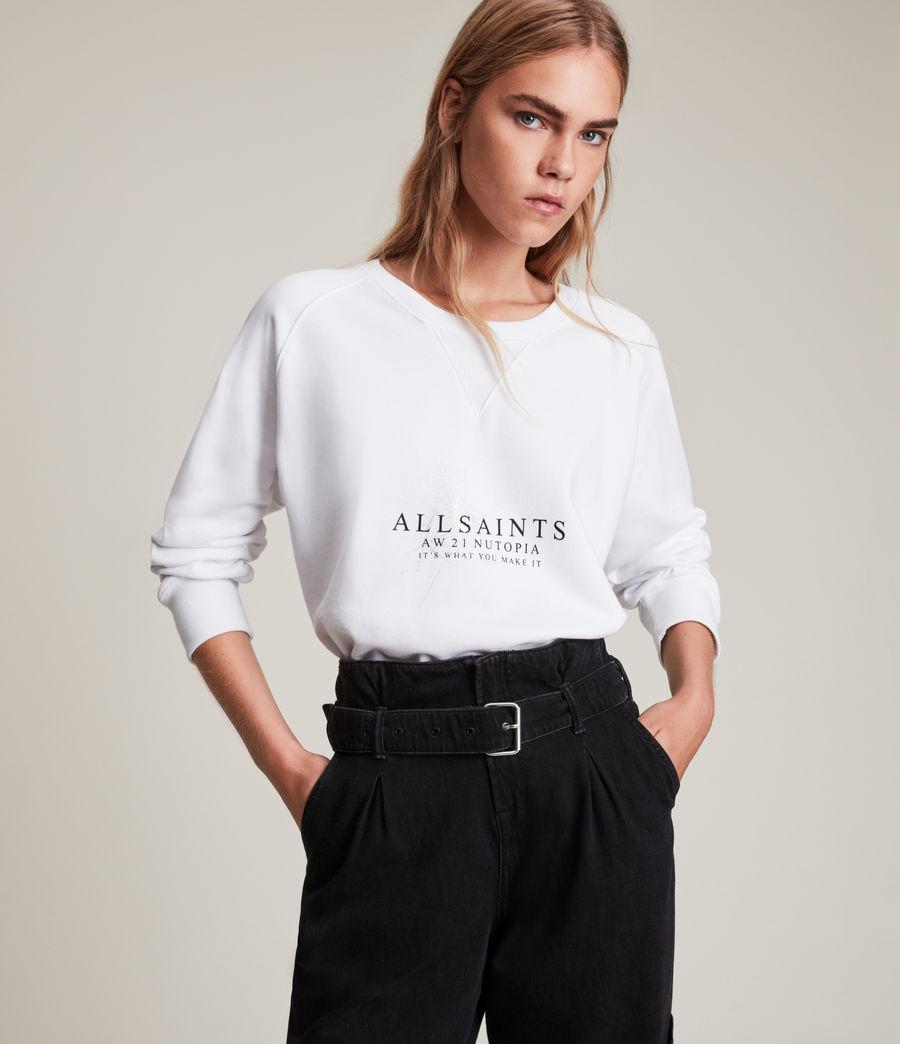 Women's Heavenly Deeci Sweatshirt (optic_white) - Image 1
