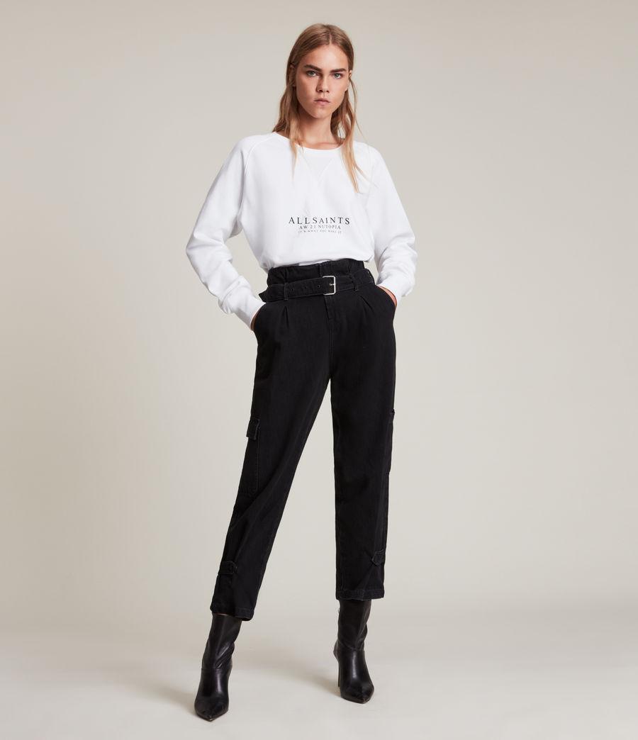 Women's Heavenly Deeci Sweatshirt (optic_white) - Image 3
