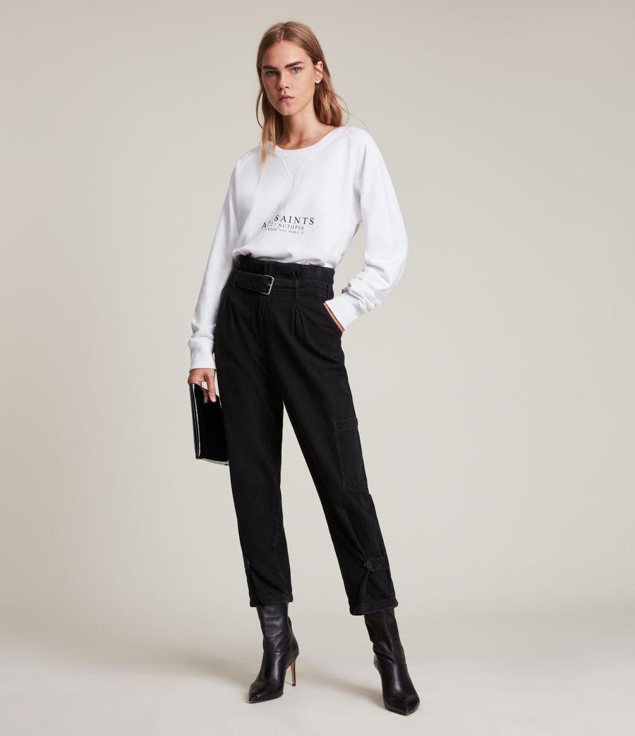 Women's Heavenly Deeci Sweatshirt (optic_white) - Image 4