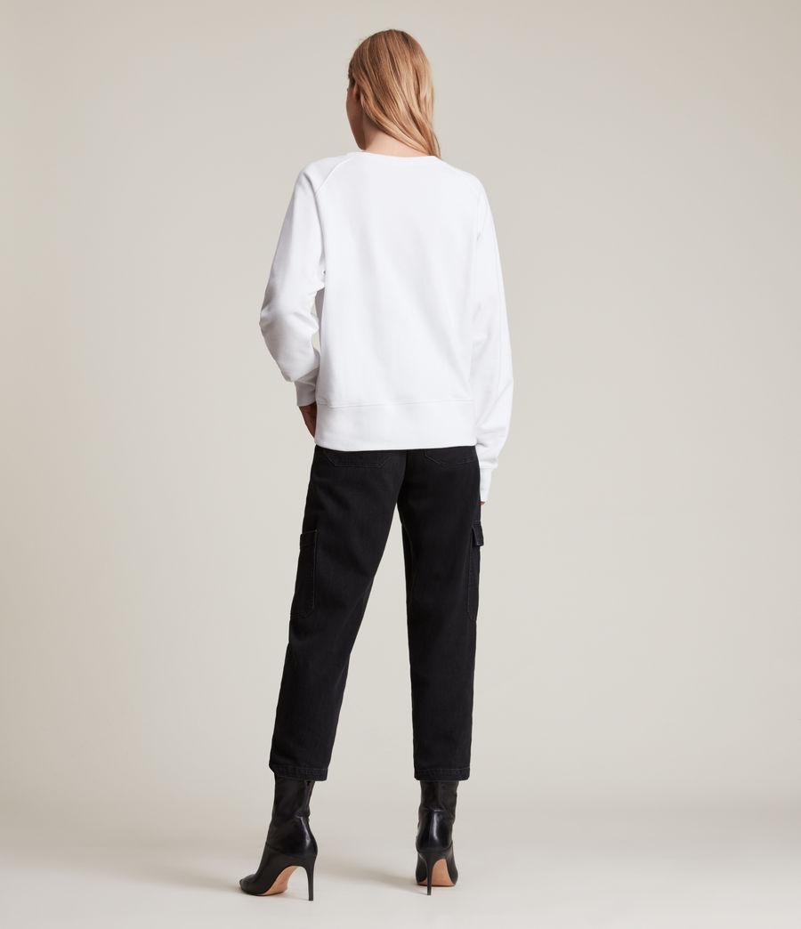Women's Heavenly Deeci Sweatshirt (optic_white) - Image 5